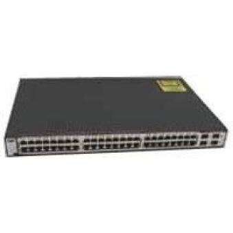 Catalyst 3750 48 10/100/1000T + 4 SFP + IPB Image