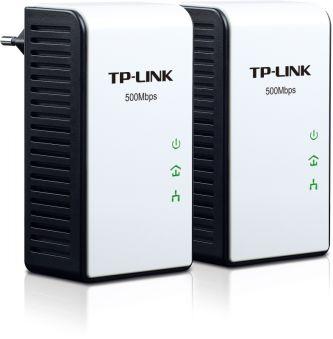 500Mbps Powerline Ethernet Adapter Kit, AC Pass-through, Plug(EU)