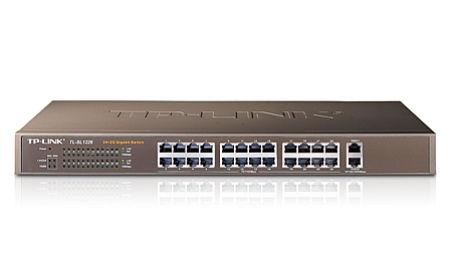 24+2G Gigabit Switch, 24 10/100M RJ45 ports, 2 Fixed 10/100/1000M RJ4