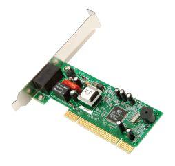 Carte PCI modem V92 56K