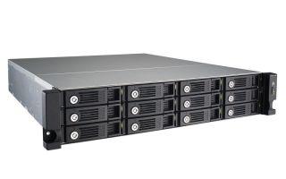 12-Bay TurboNAS, SATA 6G, 2.13G Dual Core, 1G RAM, 2x GbE LAN