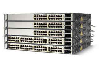 Commutateur Cisco Catalyst 3750 12 SFP DC powered + IPB Image