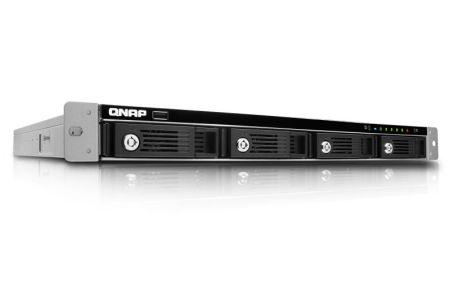 4-Bay TurboNAS, SATA 6G, 2.13G Dual Core, 1G RAM, 2x GbE LAN