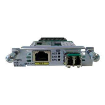 Cisco Enhanced HWIC, Dual Mode 1 port SFP/Copper