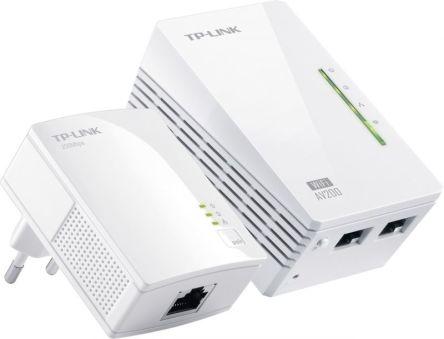 300Mbps AV200 WiFi Powerline Extender Starter Kit