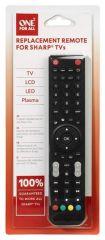 Télécommande compatible avec TV SHARP