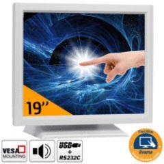 Moniteur iiyama Tactile résistif 15, 1280x1024 pts, VGA/DVI Pied r