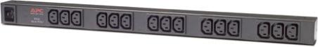 Rack PDU,Basic, Zero U, 16A, 230V, (20) C13 & (4) C19 - IEC C20