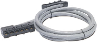 APC Data Distribution 2U Panel, Holds 8 each Data Distribution Cables