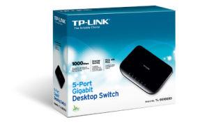 5-port Desktop Gigabit Switch, 5 10/100/1000M RJ45 ports, plastic cas